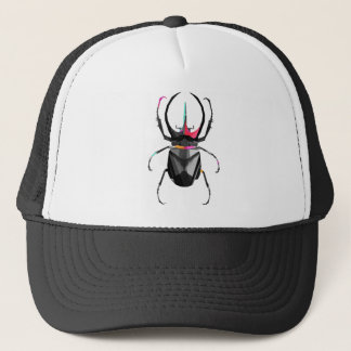 Geometric Scarab Trucker Hat