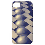 Geometric Shapes of Gold iPhone 5 Case