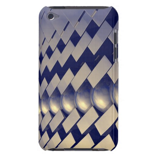 Geometric Shapes of Gold iPod Case-Mate Cases