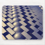 Geometric Shapes of Gold Mouse Pad