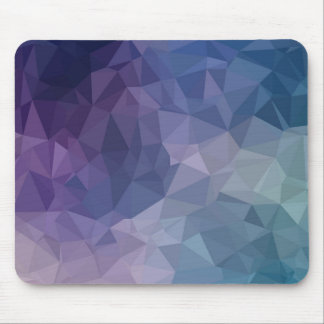 Geometric Shapes-Pink, Lavender, Teal, Mauve Mouse Mat
