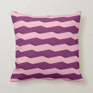 Geometric Shapes/Pink & Purple Cushion