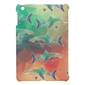 Geometric Sharks Cover For The iPad Mini
