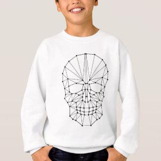 Geometric Skull Sweatshirt
