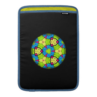 Geometric Spirograph Sleeve For MacBook Air