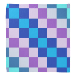 Geometric square dog bandanna