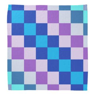 Geometric square dog bandanna