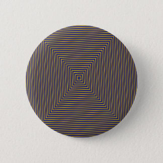 Geometric Squares 6 Cm Round Badge