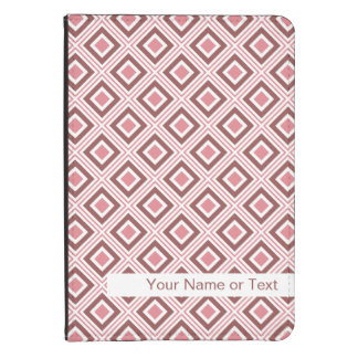 geometric squares pattern warm colors