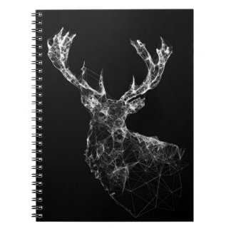Geometric Stag Notebook