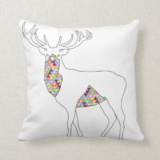 Geometric Stag Pillow