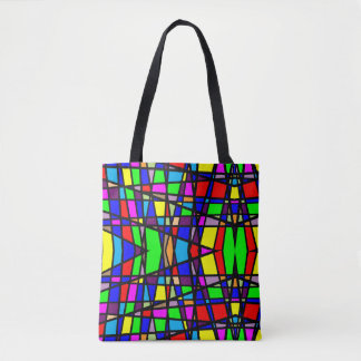 Geometric Stained Glass Bag