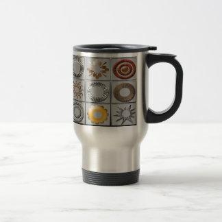 Geometric Stainless Travel Mug