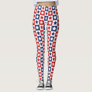 Geometric star leggings