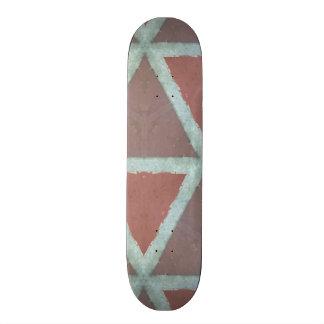 Geometric Stone Wall 19.7 Cm Skateboard Deck