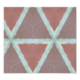 Geometric Stone Wall Photographic Print
