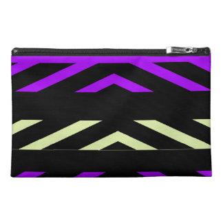 Geometric Stripes Travel Accessory Bag