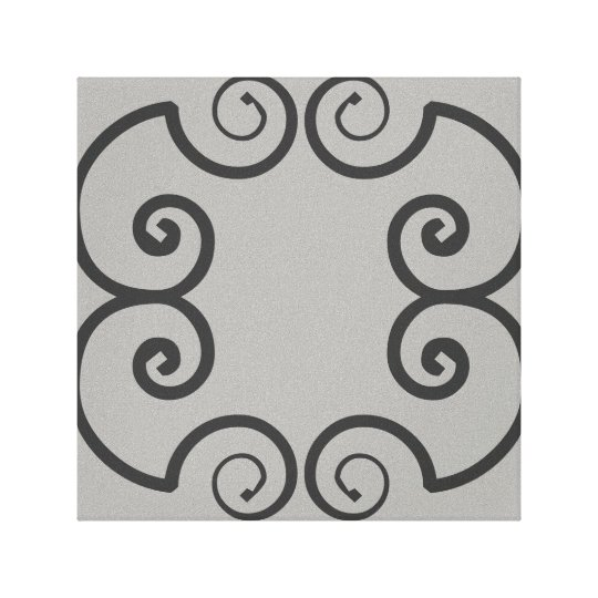Geometric Swirly Abstract Wall Art