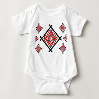 Geometric Traditional Pattern Baby Bodysuit