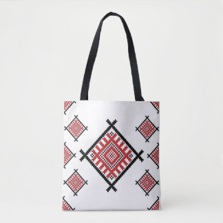 Geometric Traditional Pattern Tote Bag