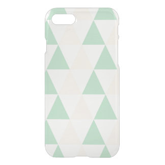 Geometric triangles hipster pastel triangle iPhone 7 case
