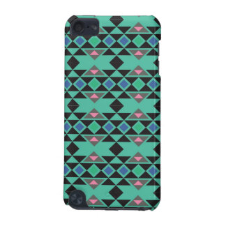 Geometric tribal aztec andes hipster teal pattern iPod touch 5G covers