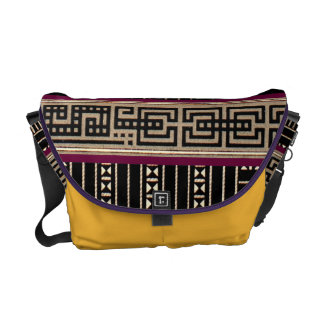 Geometric Tribal Pattern Graphic Vintage Bold Commuter Bags