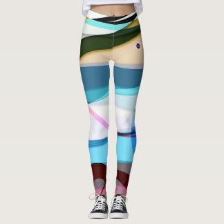 geometric trypes leggings