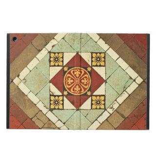 geometric victorian floral ceramic tile design cover for iPad air