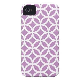 Geometric Violet Iphone 4/4S Case