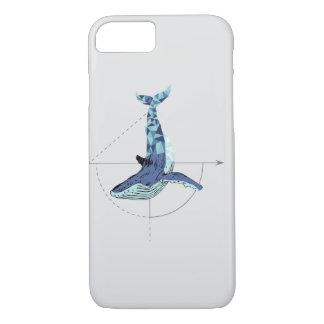 Geometric Whale iPhone 8/7 Case