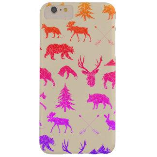 Geometric Woodland Animals   iPhone 6/6s Plus Case