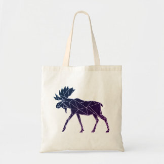Geometric Woodland Animals | Moose Budget Tote
