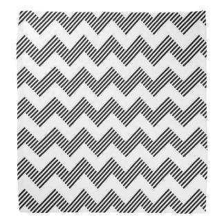 Geometric zigzag pattern 2 bandana