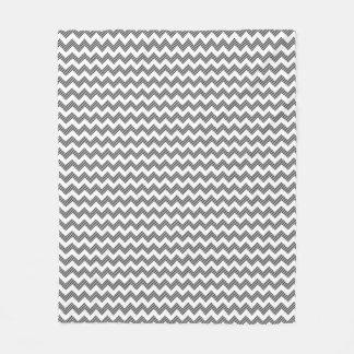 Geometric zigzag pattern 2 fleece blanket