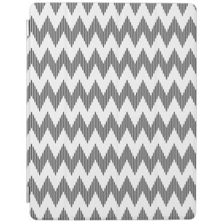 Geometric zigzag pattern 2 iPad cover