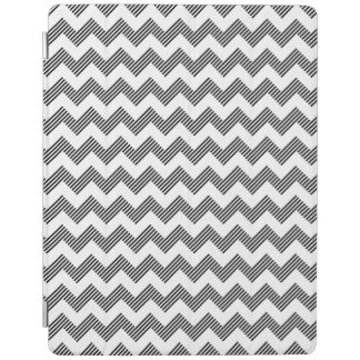 Geometric zigzag pattern iPad cover