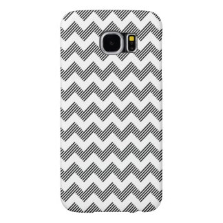 Geometric zigzag pattern samsung galaxy s6 cases