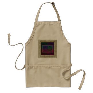 Geometrical Abstract In Multi Colors Standard Apron