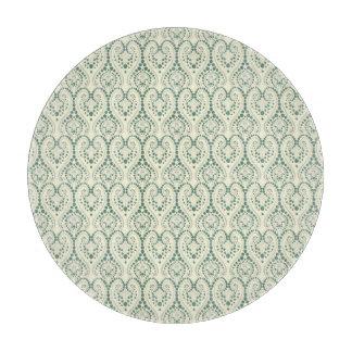 Geometrical design pattern cutting board