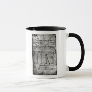 Geometrical figures for construction mug