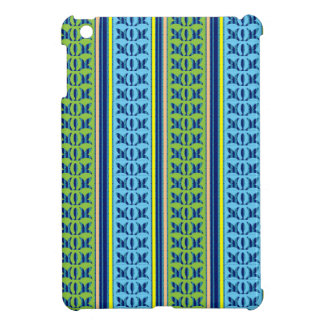 Geometrical Graphical Flower Line Art Pattern GIFT Cover For The iPad Mini
