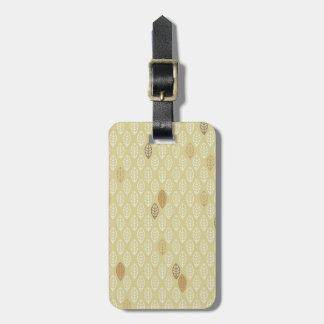 Geometrical Leaf Luggage Tag