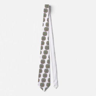 Geometrical Mandala Necktie, Neck Tie