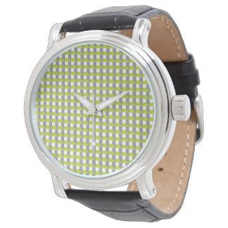 Geometrical modern watch