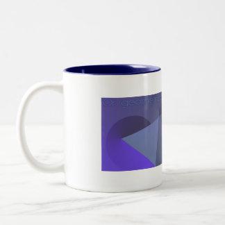 geometrical Two-Tone mug