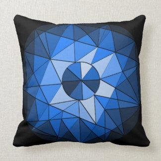 Geometrics Circle Gemstone Design Pillow