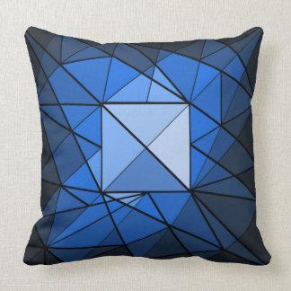 Geometrics Square Gemstone Design Pillow