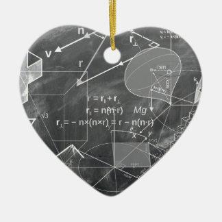 Geometry Ceramic Heart Decoration
