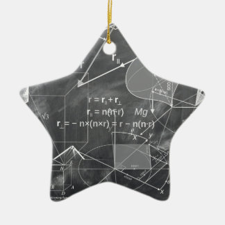 Geometry Ceramic Star Decoration